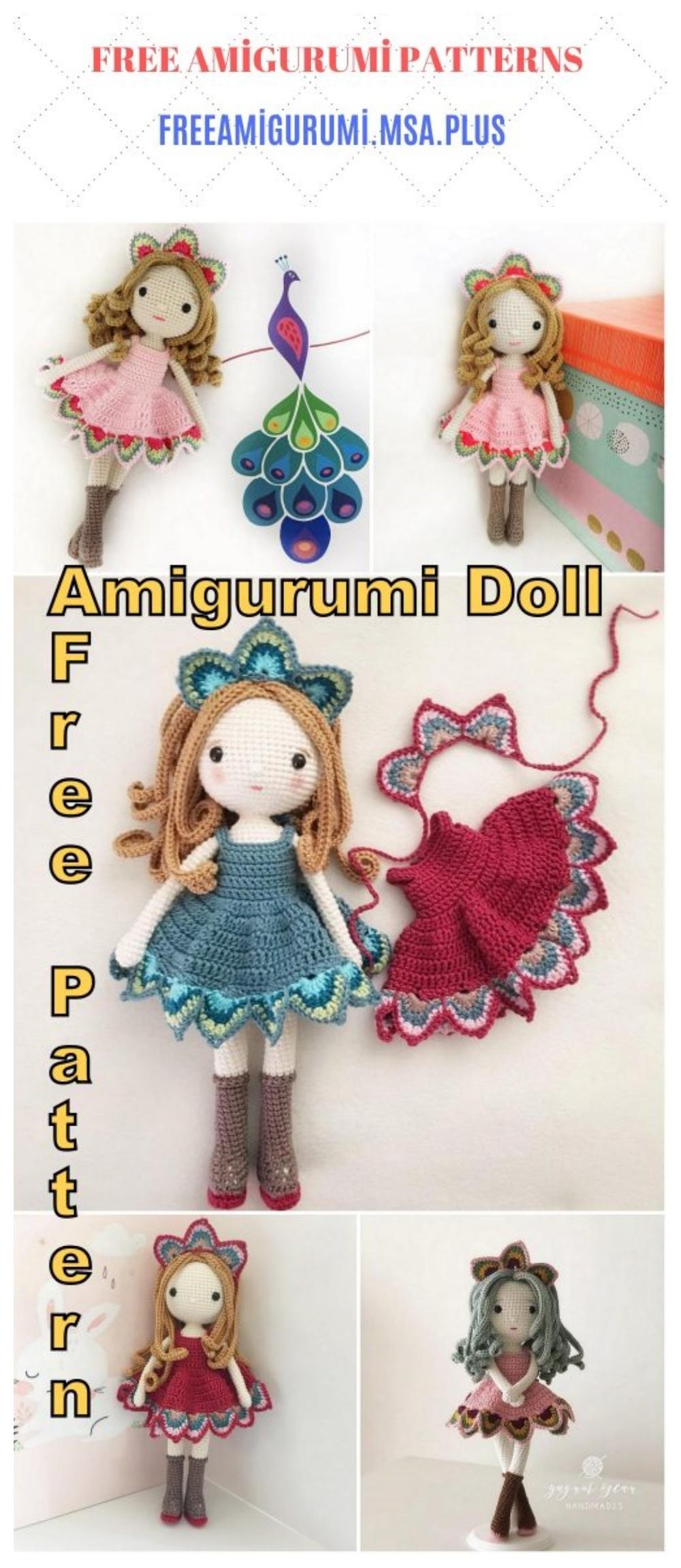 Framed crochet doll free Pdf Pattern - Laydiy Online Free Crochet ...   2300x1000