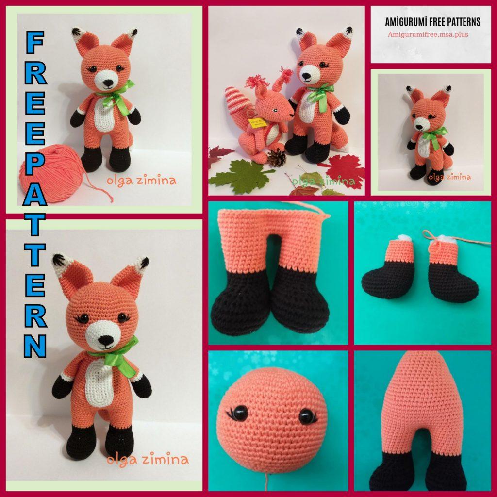 Amigurumi Cute Fox Free Pattern