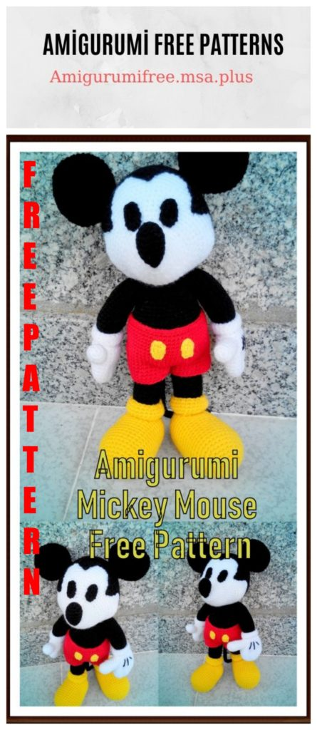 mickey – Page 2 – Amigurumi Patterns | 1024x445