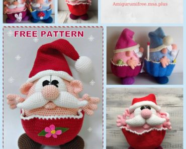Crochet Santa Claus Plushie: Free Crochet Christmas Pattern | | 297x370