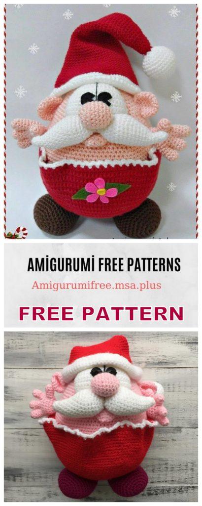 Crochet Christmas Gnome | MissNeriss | 1024x410