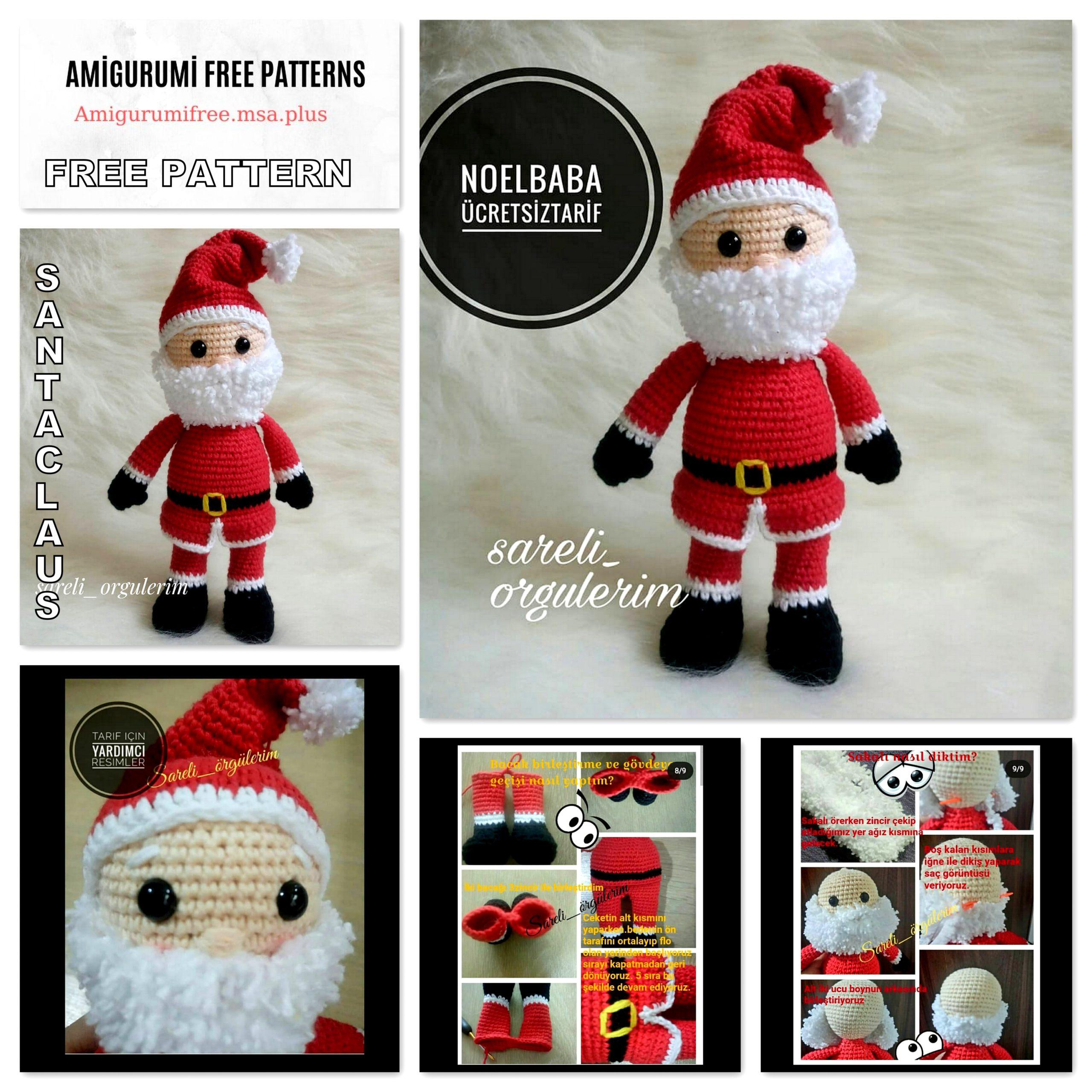 Ravelry: Santa pattern by Amigurumi Fair   2560x2560