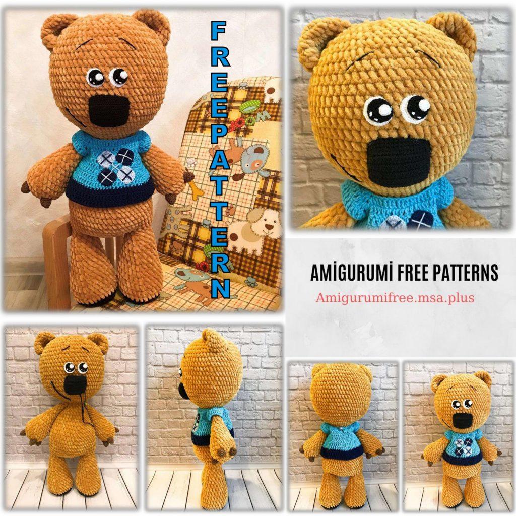 Cute Amigurumi Teddy Bear Free Pattern