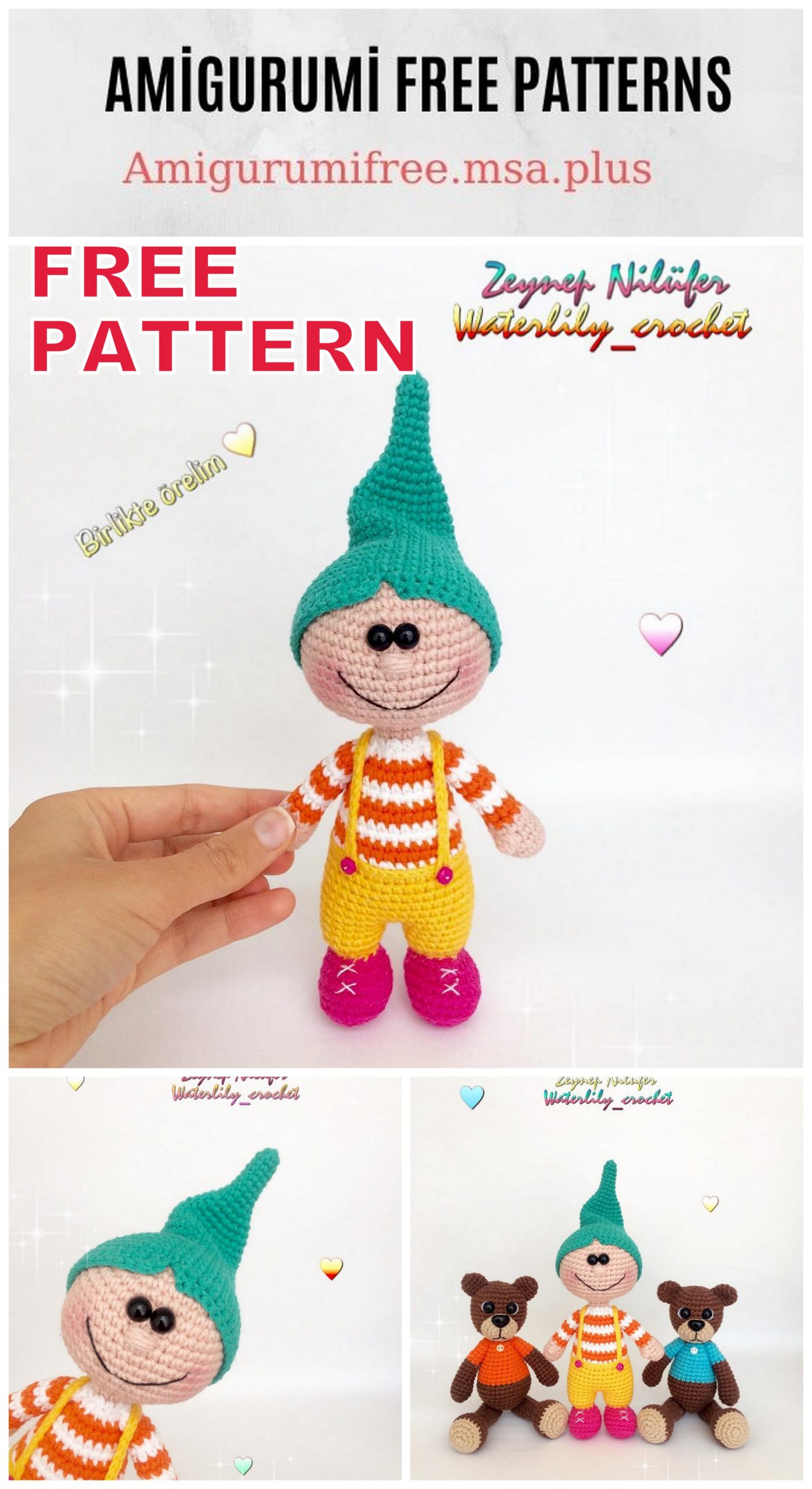 Amigurumi Doll Zeynep Free Crochet Pattern - Amigurumi Free Patterns   2560x1397