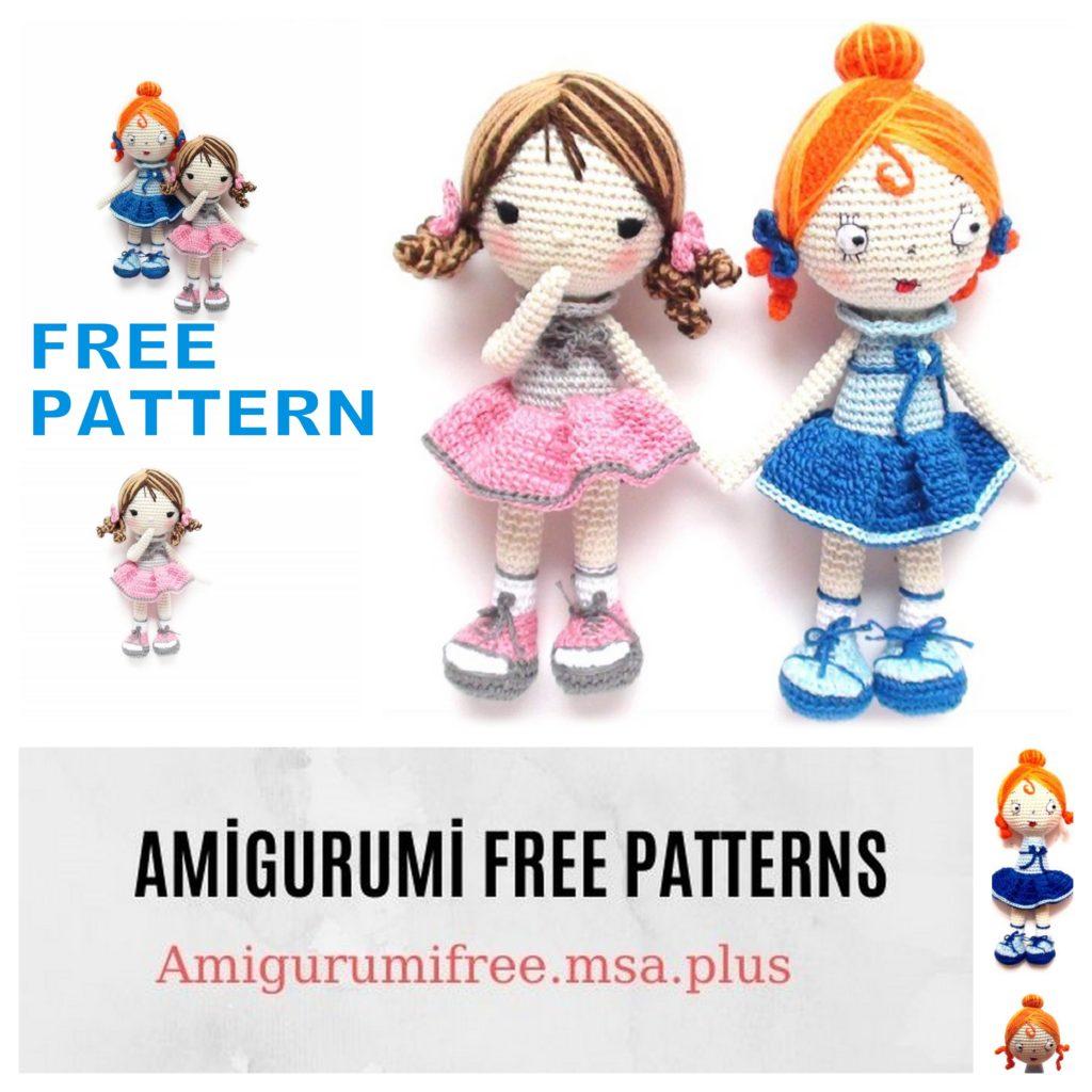 Amigurumi Doll Suzi Free Crochet Pattern