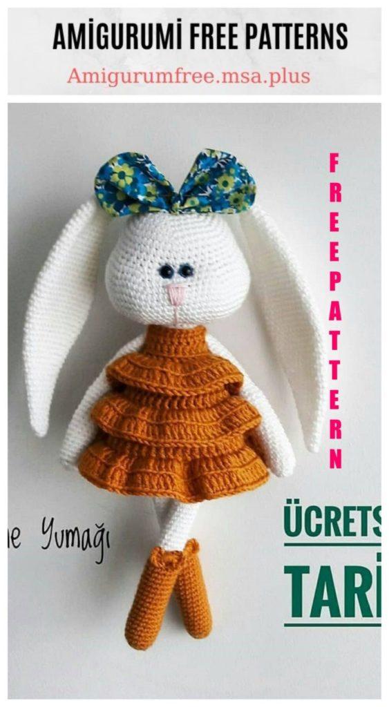 Free Amigurumi Vipvip THE Bunny English Pattern