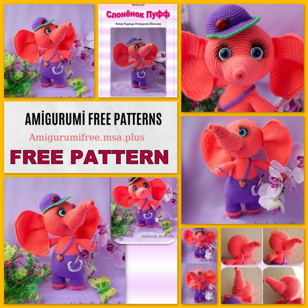 Amigurumi Elephant Free Pattern