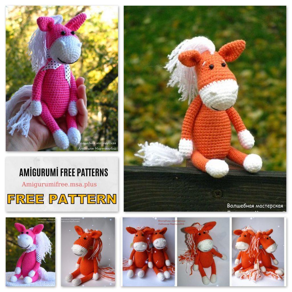 Amigurumi Horse Free Pattern