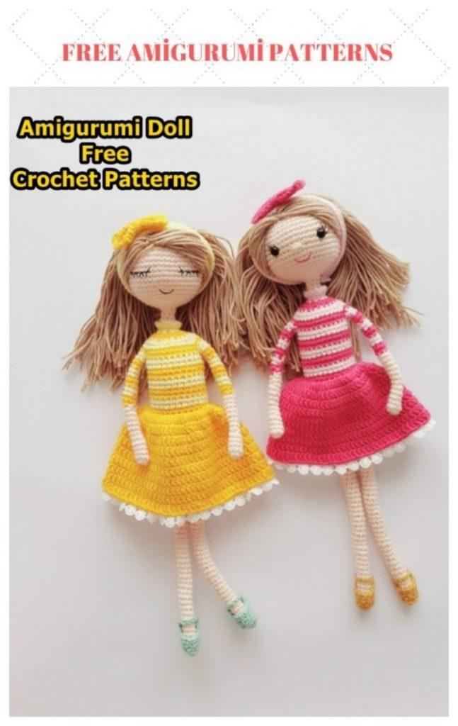 Amigurumi Sweet Baby Doll Free Crochet Pattern