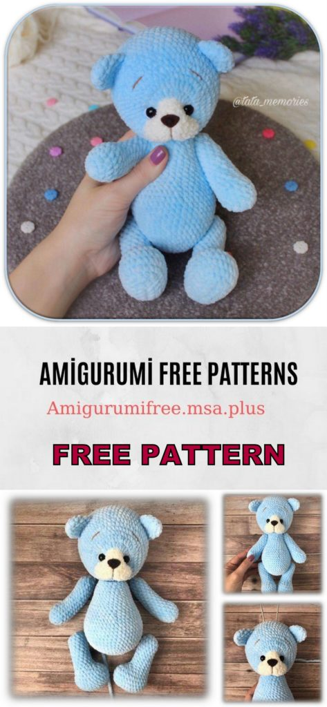 Teddy Bear Amigurumi Free Pattern